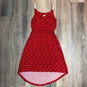 ⭐️ 3 for $25 ⭐️ Twik Anchor Print High Low Dress